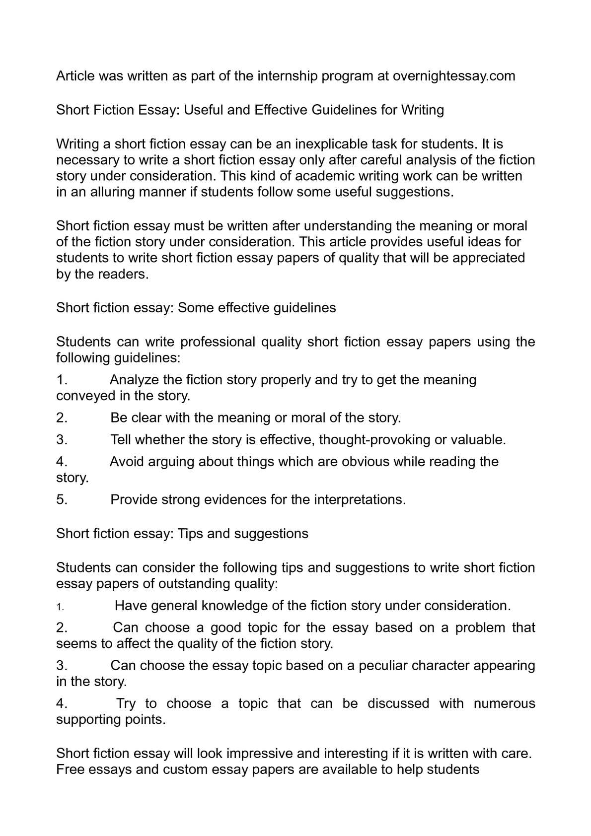 005 Essay Example Fiction Imposing English 102 Writing Prompts For Middle School High Full