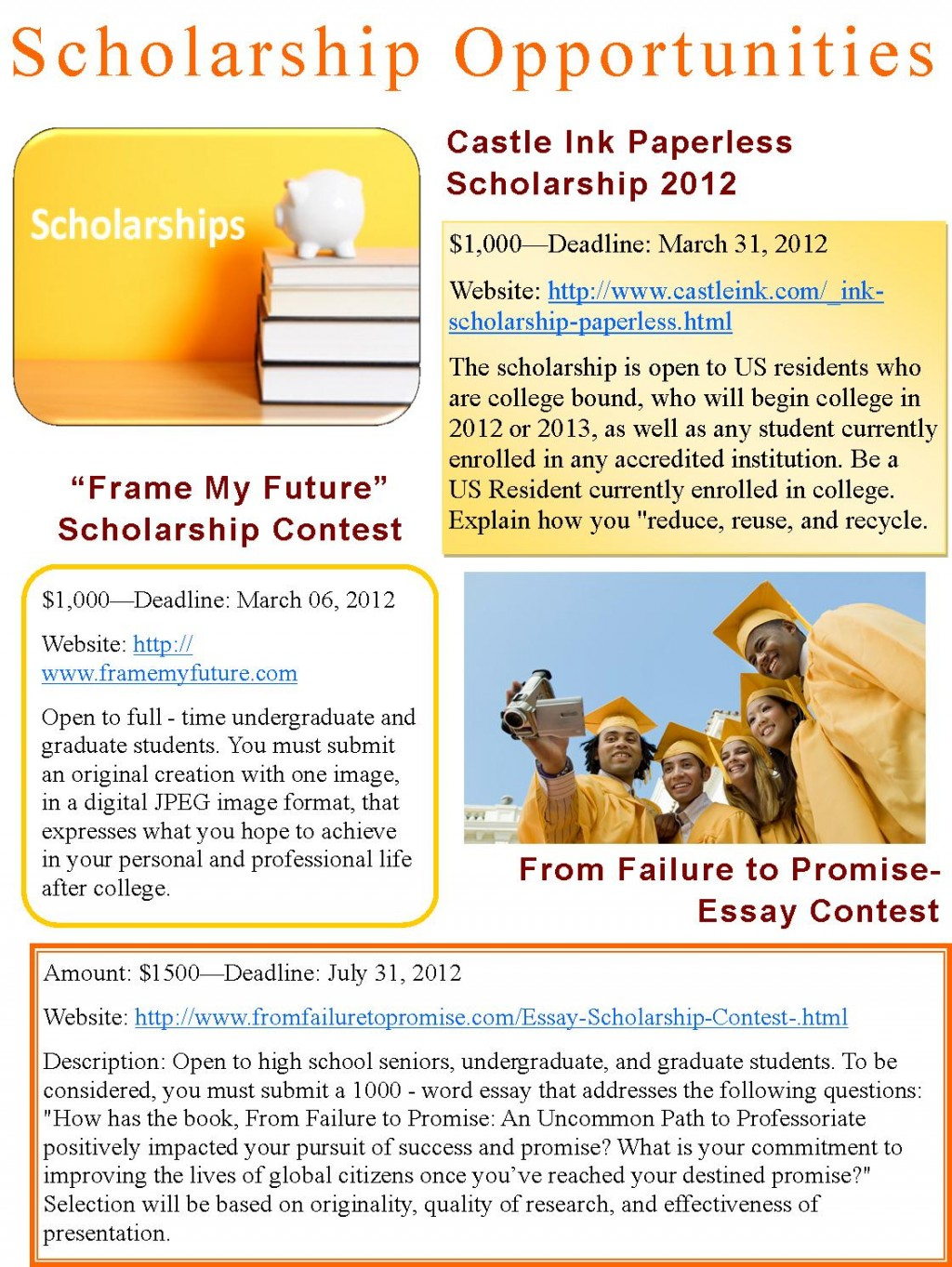 005 Essay Example From Failure To Promise Contest Unique Large