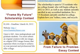 005 Essay Example From Failure To Promise Contest Unique