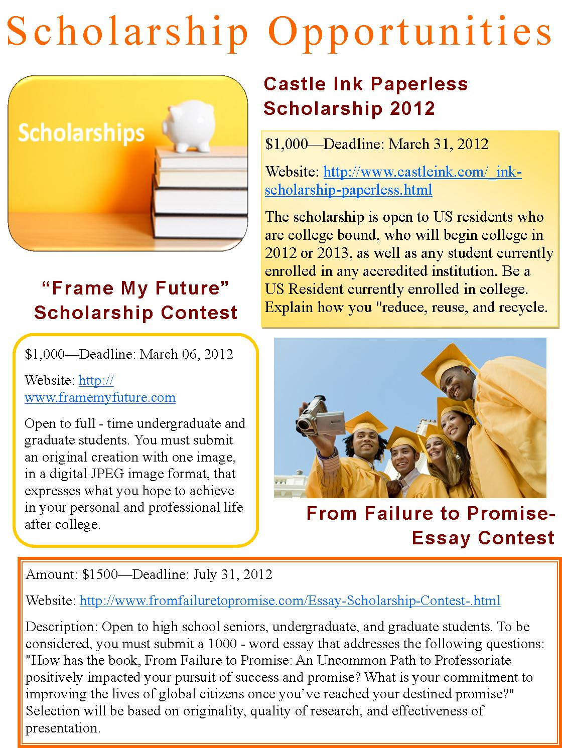 005 Essay Example From Failure To Promise Contest Unique Full