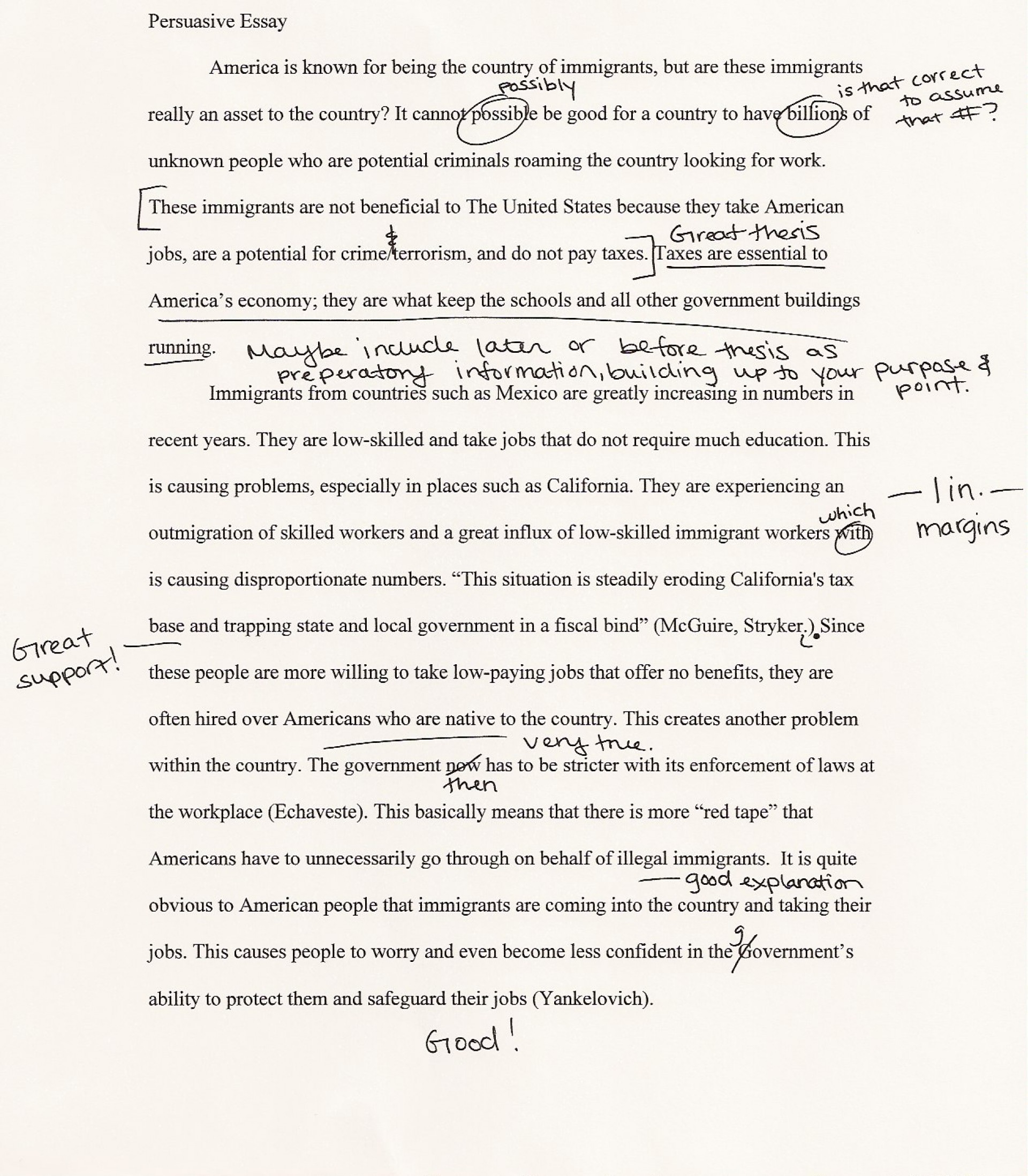 005 Essay Example Good Hook For An Impressive A Examples Of Argumentative On To Kill Mockingbird About Music 1920