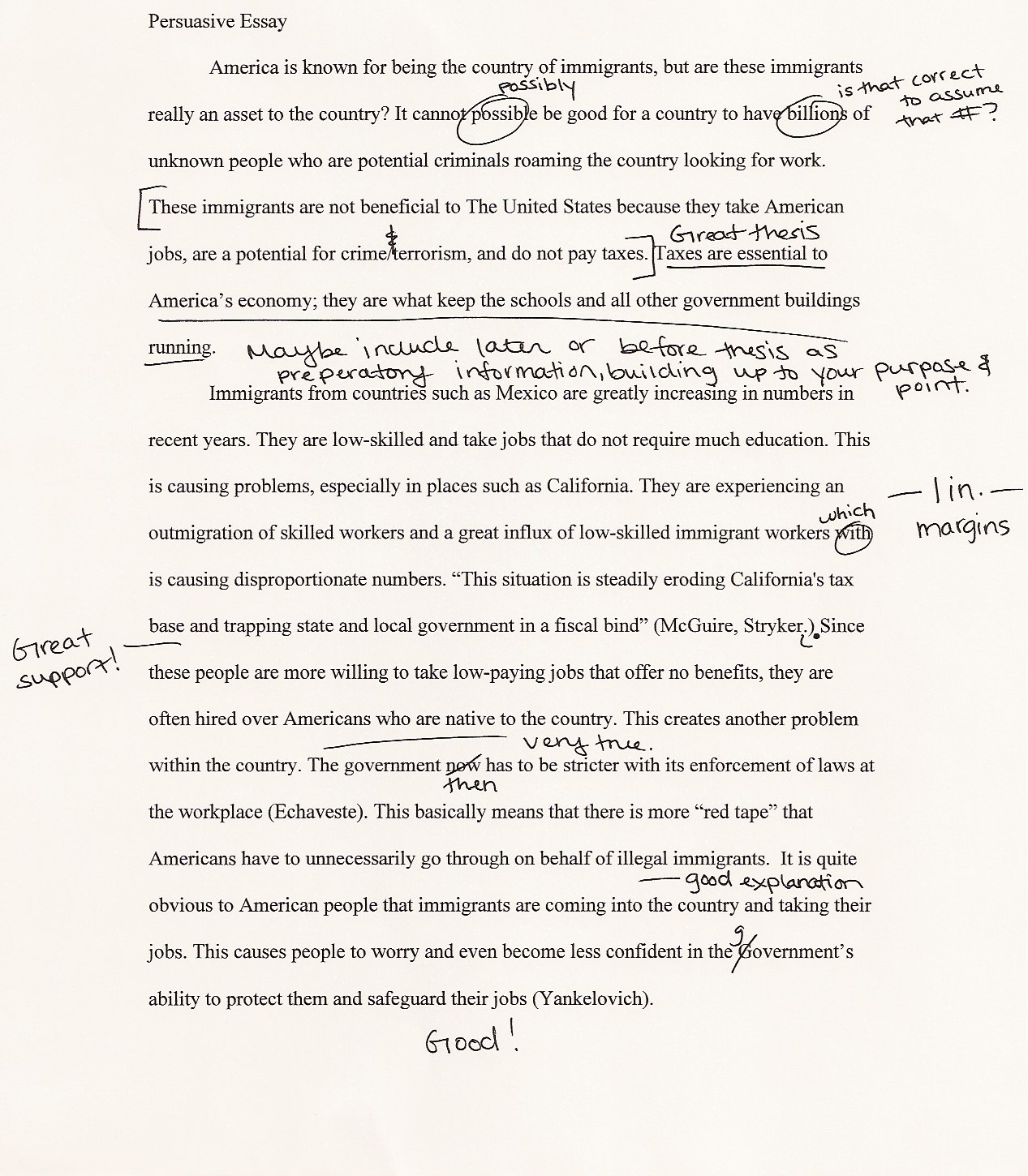005 Essay Example Good Hook For An Impressive A Examples Of Argumentative On To Kill Mockingbird About Music Full