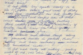 005 Essay Example Handwritten Letter Lia Page Handwriting Recognition Importance Good Analysis Cursive Vs Typing Sat Titles For Fearsome On Short Of In Hindi Gujarati