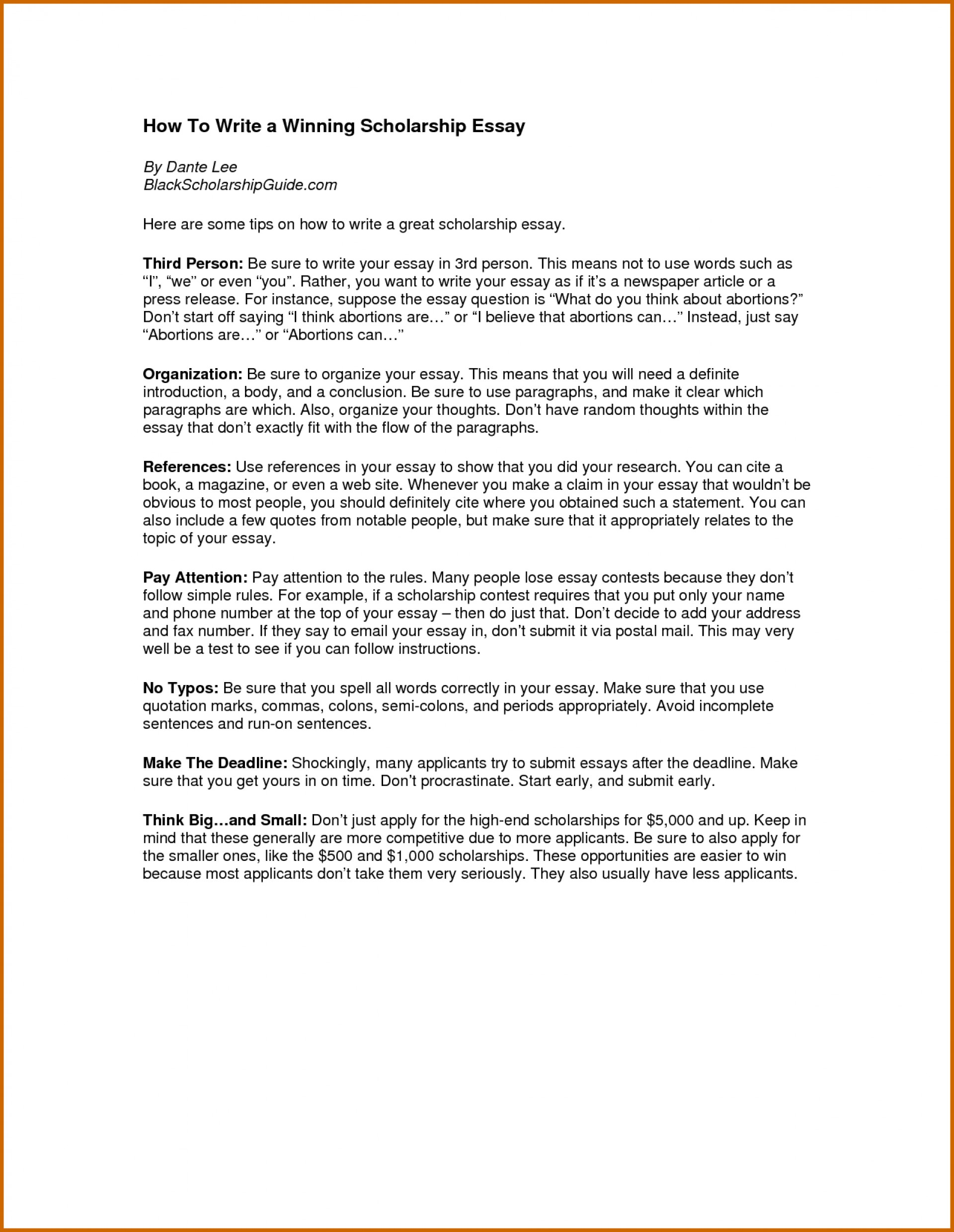 005 Essay Example Help Writing Essays For Scholarships Com Need I To Write An Fast How Scholarship Have Due Tomorrow In Spanish About Myself Hours One Night Motivation What Does Outstanding The Word Mean Paper Ese 1920