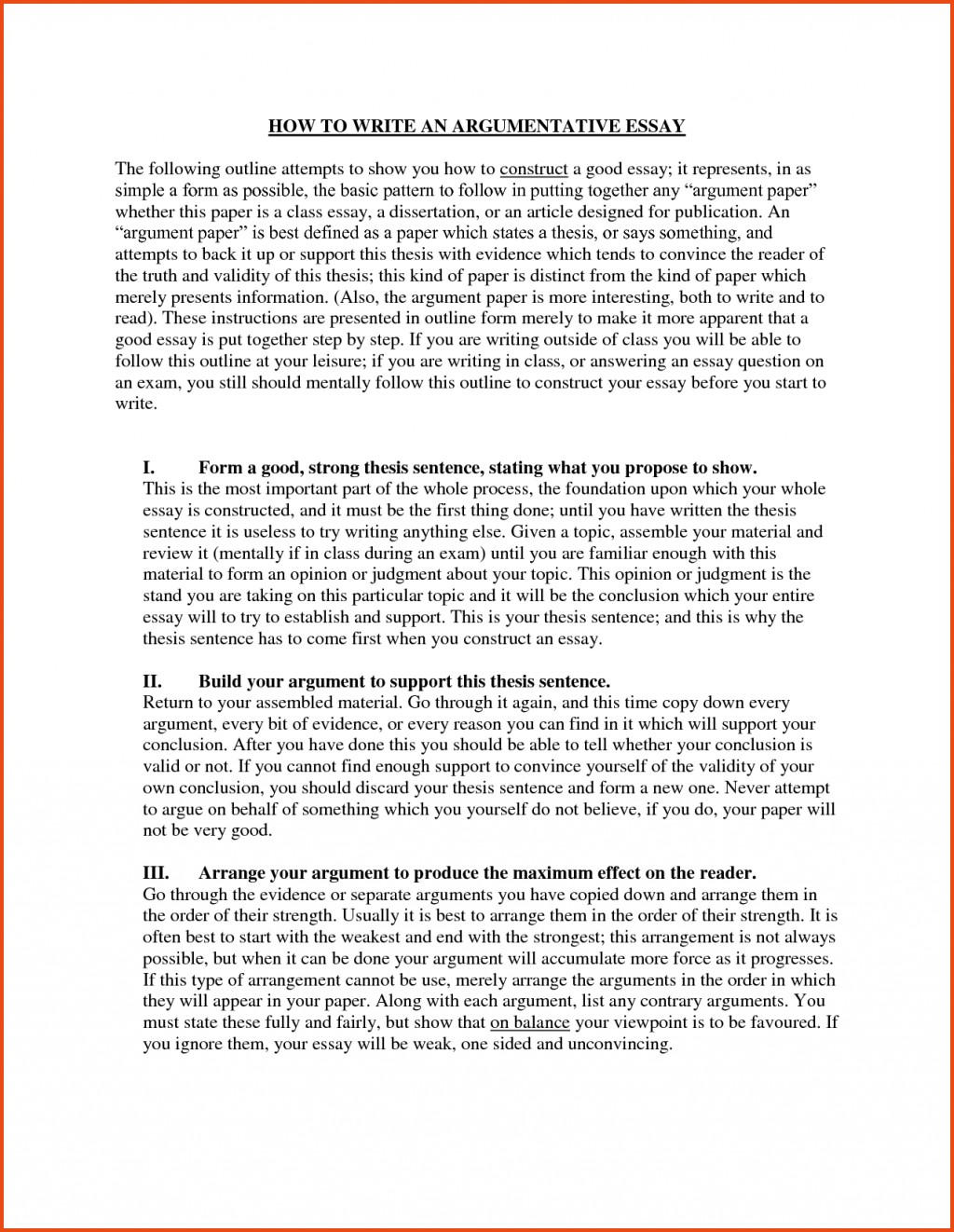 005 Essay Example How To Start An Brilliant Ideas Of Good Ways About Yourself Dissertation Nice Amazing Argumentative A Book With Definition Your Life Large