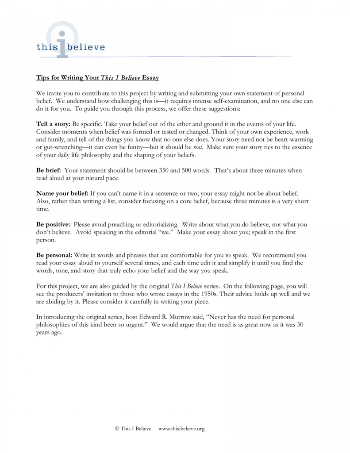 005 Essay Example How To Write This I Believe 008807221 1 Fantastic A Things On What 1400