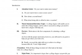 005 Essay Example Informative Outline Format Unforgettable 5th Grade Examples
