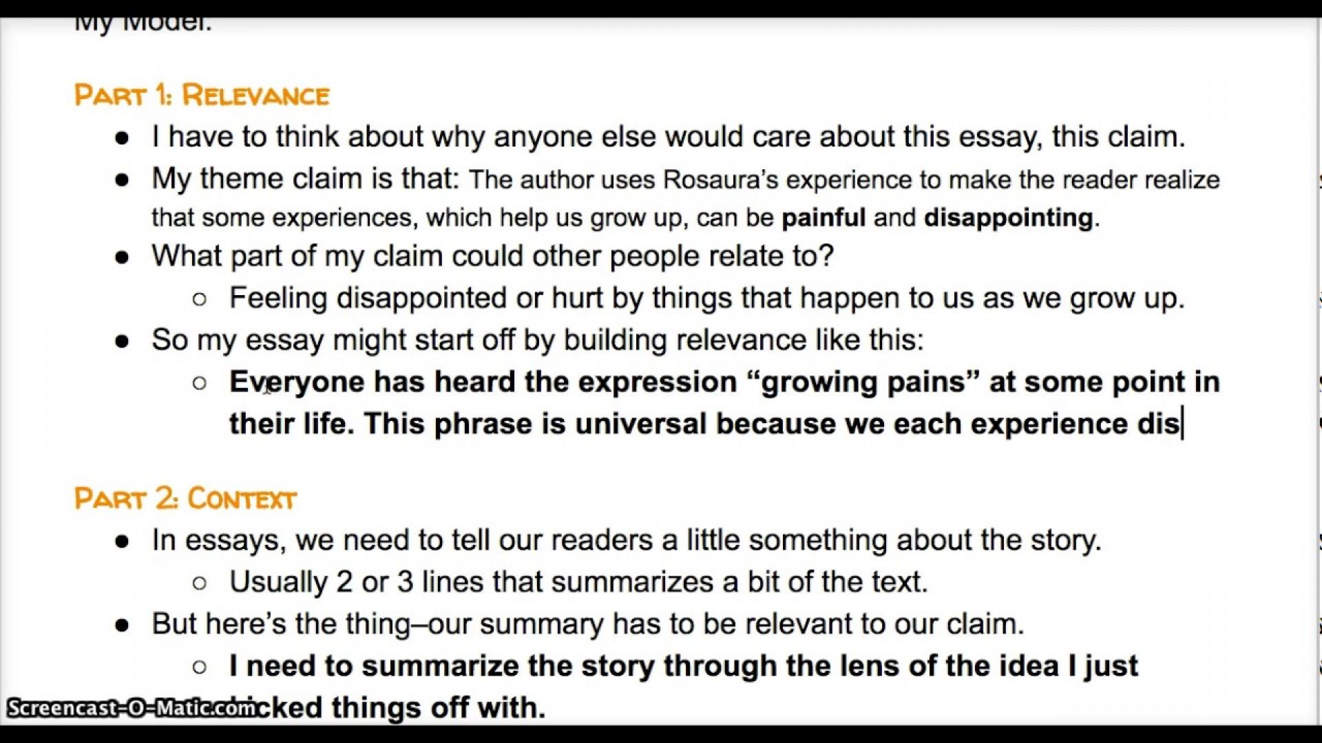 005 Essay Example Lead Breathtaking Exposure Lex Competition 1920