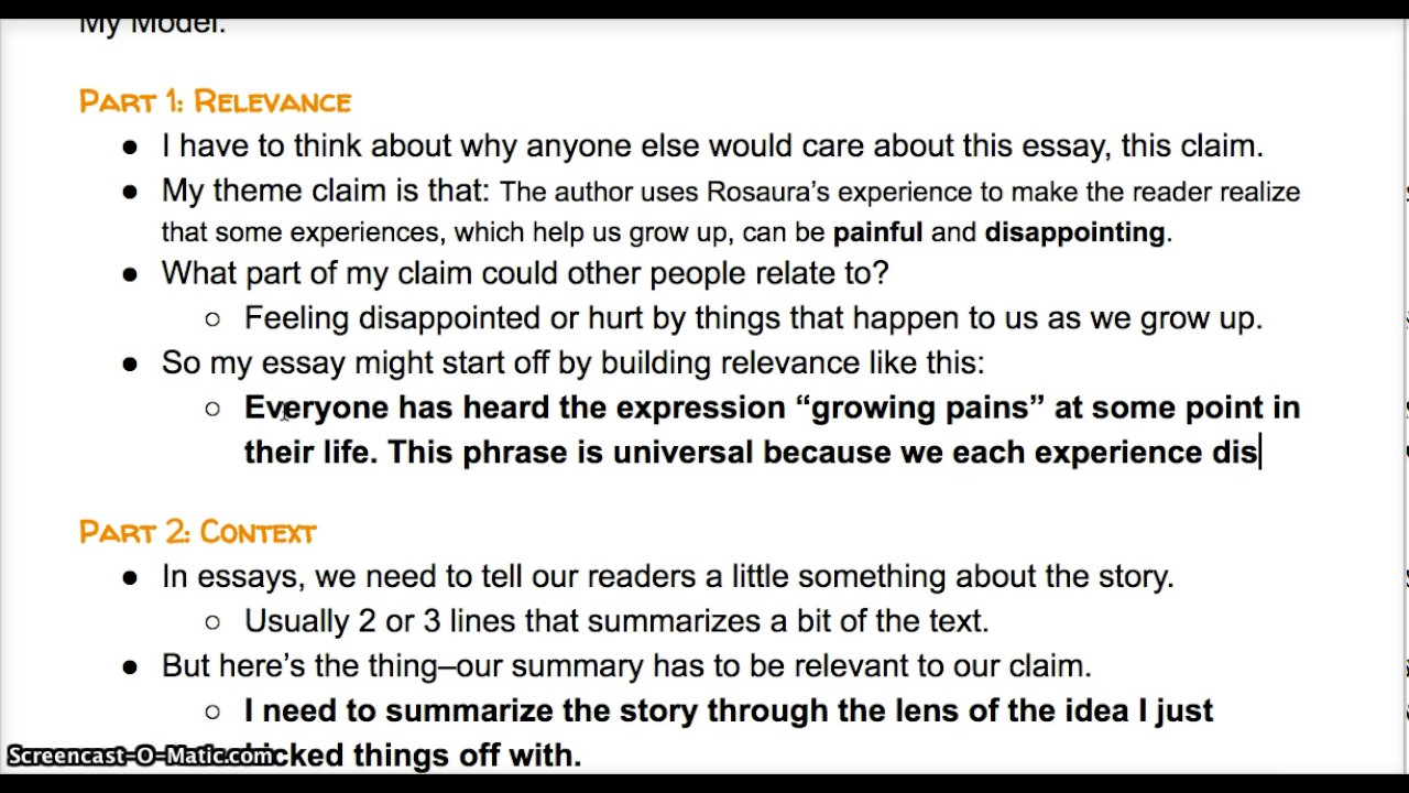 005 Essay Example Lead Breathtaking Exposure Generator Full