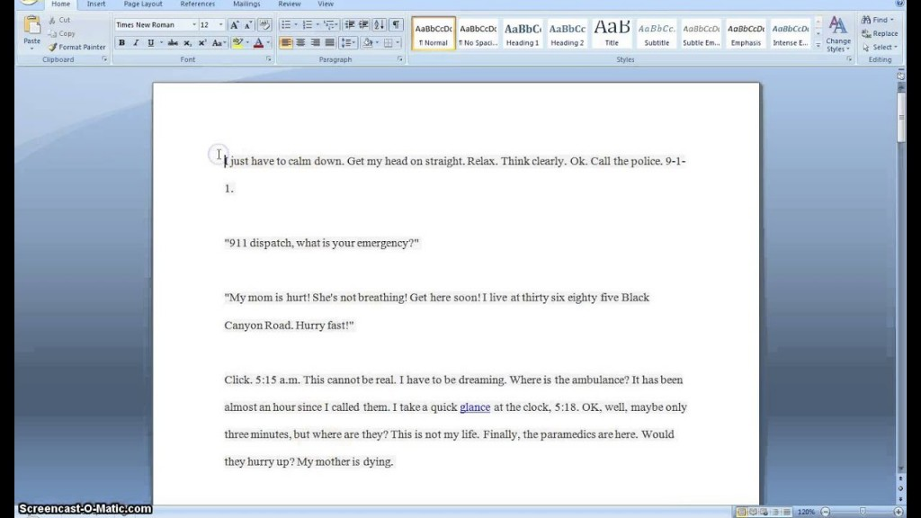 005 Essay Example Maxresdefault How To Make Look Exceptional Longer Period Your Trick An On Google Docs Large