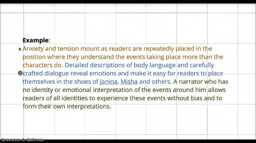 005 Essay Example Maxresdefault How To Write Good Conclusion For Impressive A An Informative