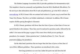 005 Essay Example Mla Style Format Template Outstanding Citation Sample Title