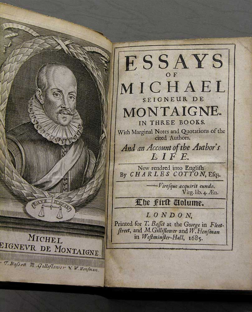 005 Essay Example Montaigne Archaicawful Essays Summary Online Pdf Full