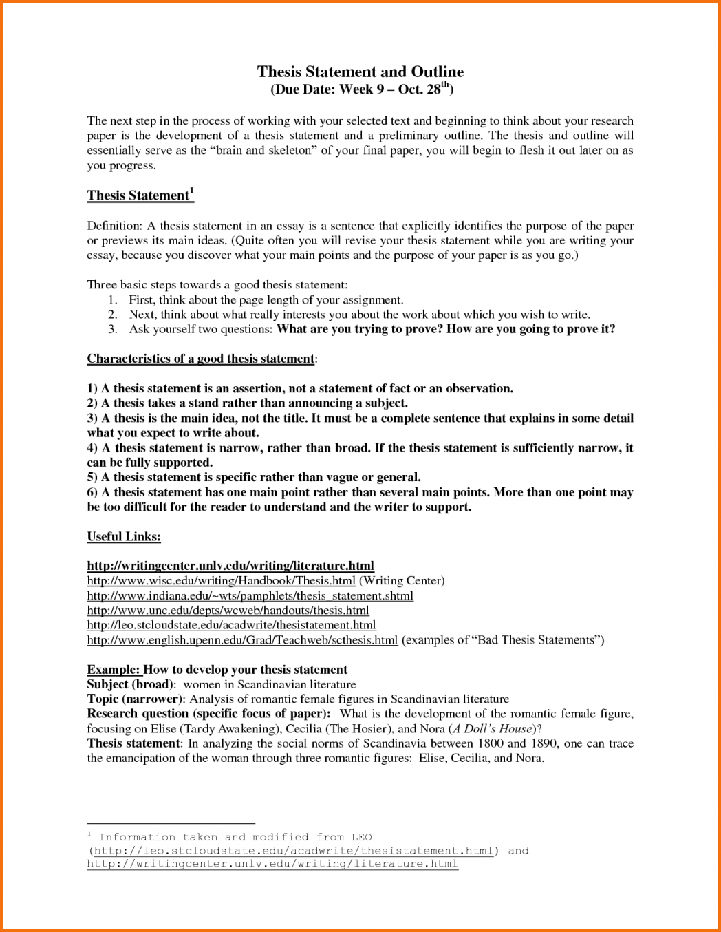 Company background research paper