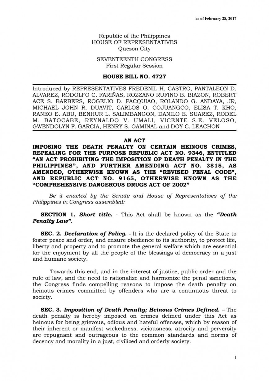 005 Essay Example Page 1 Death Penalty Sensational Essays Constitutional In The Philippines Conclusion Persuasive Pro