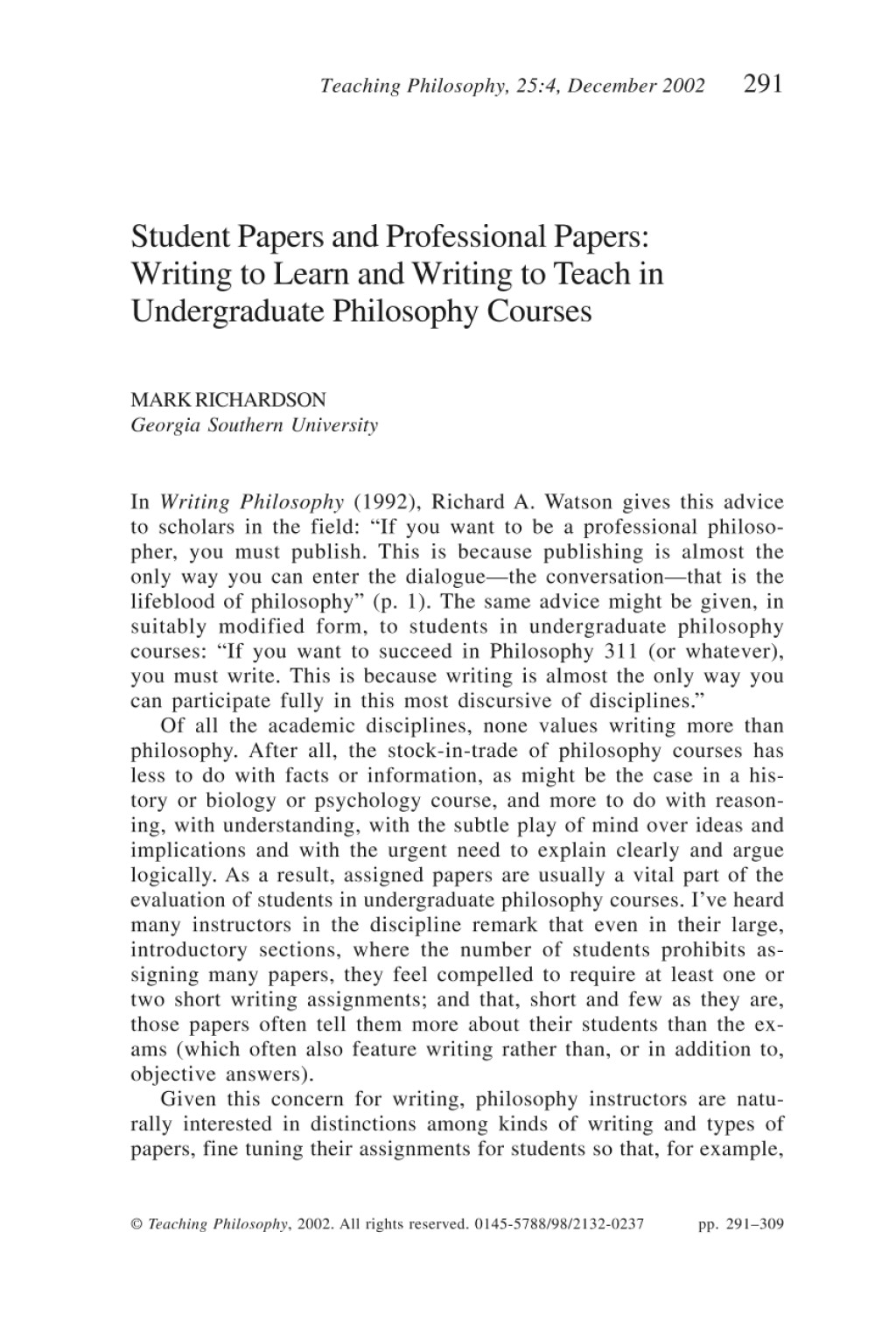 005 Essay Example Philosophy Of Teaching Personal Nursing Writing Paper Outline Pdf2imagepdfnameteachphil 2002 0025 0004 0291 For Beginners Political Format Dreaded My And Learning Education Pdf Large