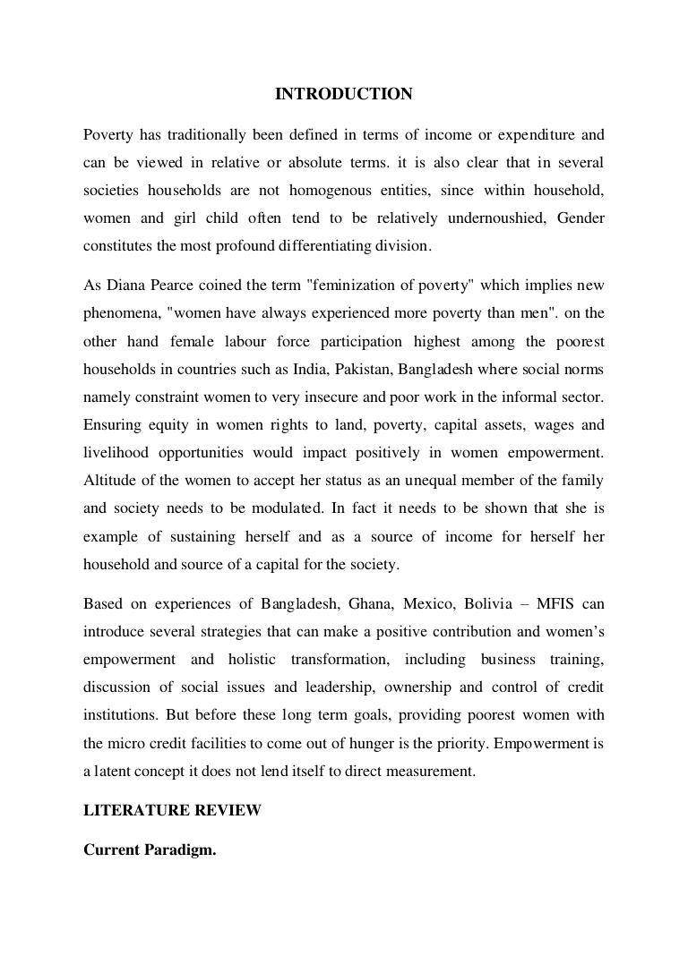 005 Essay Example Poverty Has Traditionally Been Defined In Terms Of Income Or Expenditure And Can Viewed Relative Absolute Prepared By Naresh Sehdev Phpapp01 Incredible On Women Women's Rights India Short Empowerment Full