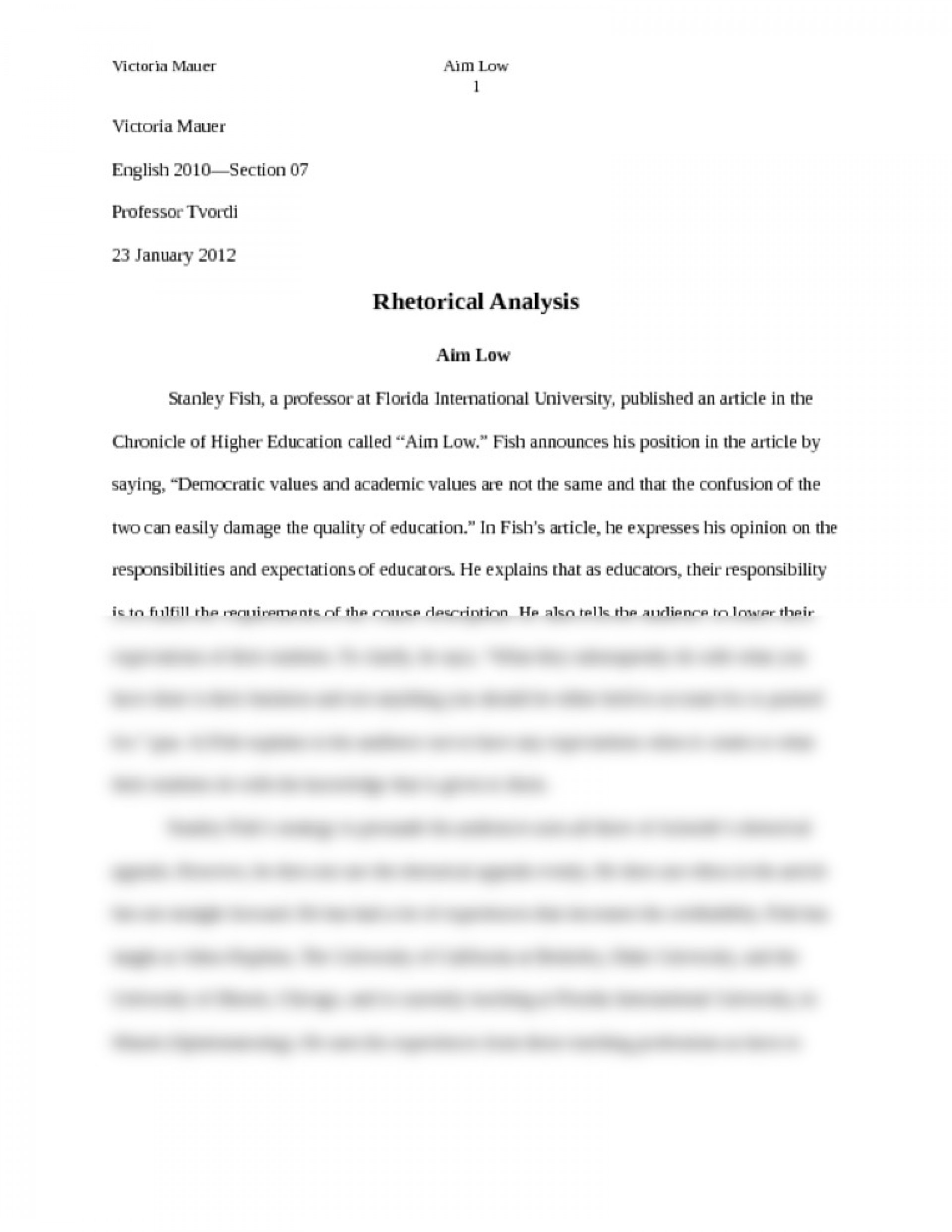 005 Essay Example Rhetorical Essays Striking Topics Strategies Examples College Question 1920
