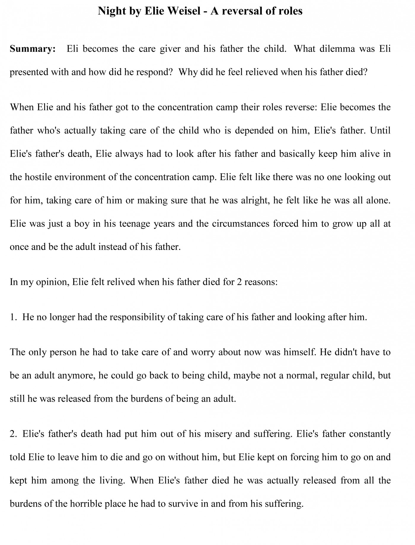 005 Essay Example Sample22 Impressive Book Report Sample Examples Of Literary 1400