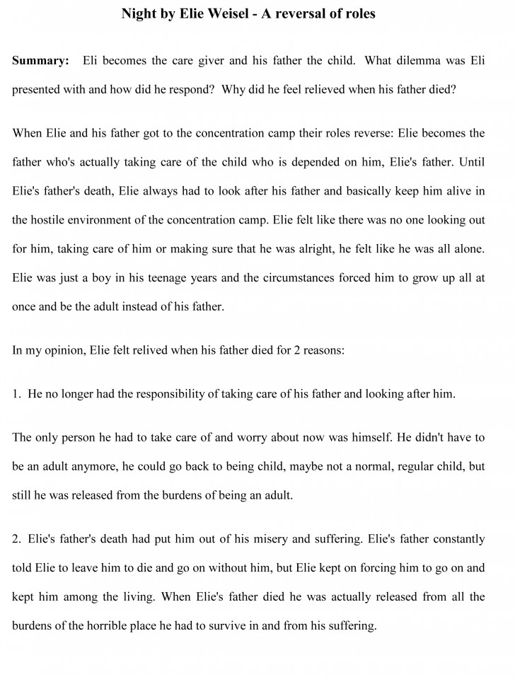 005 Essay Example Sample22 Impressive Book Report Sample Examples Of Literary 728