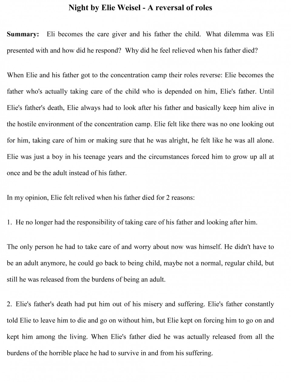 005 Essay Example Sample22 Impressive Book Report Sample Examples Of Literary 960