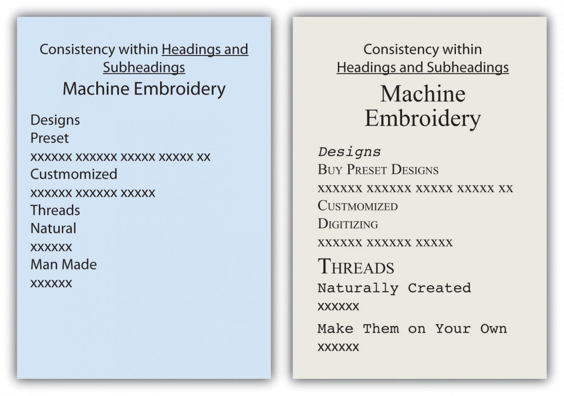 005 Essay Example Subheadings Surprising Format Academic Writing 1920