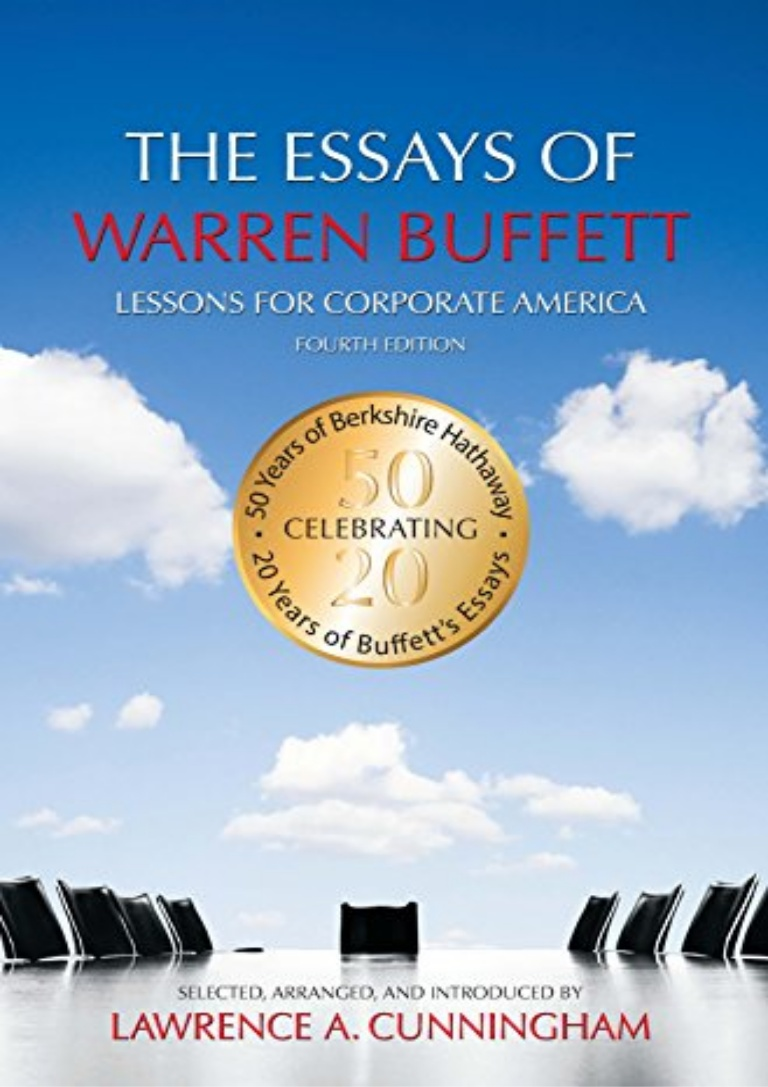 005 Essay Example The Essays Of Warren Buffett Thumbnail Stirring Pages Audiobook Download Summary Full