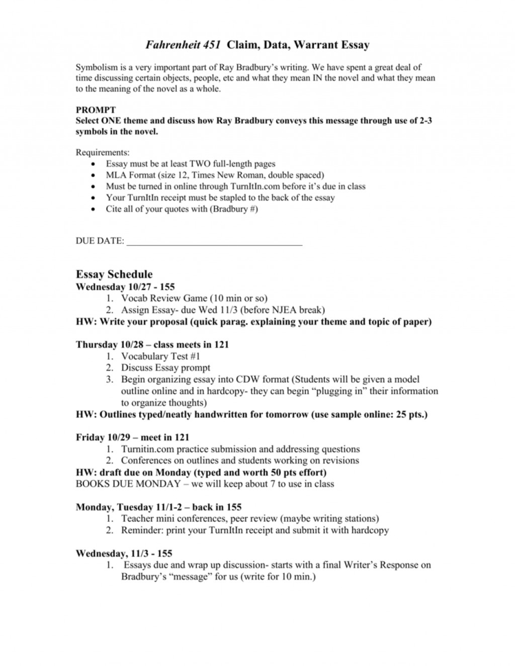 005 Essay Example Warrant 009035614 1 Singular Search Argumentative Large