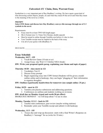 005 Essay Example Warrant 009035614 1 Singular Search Argumentative 360