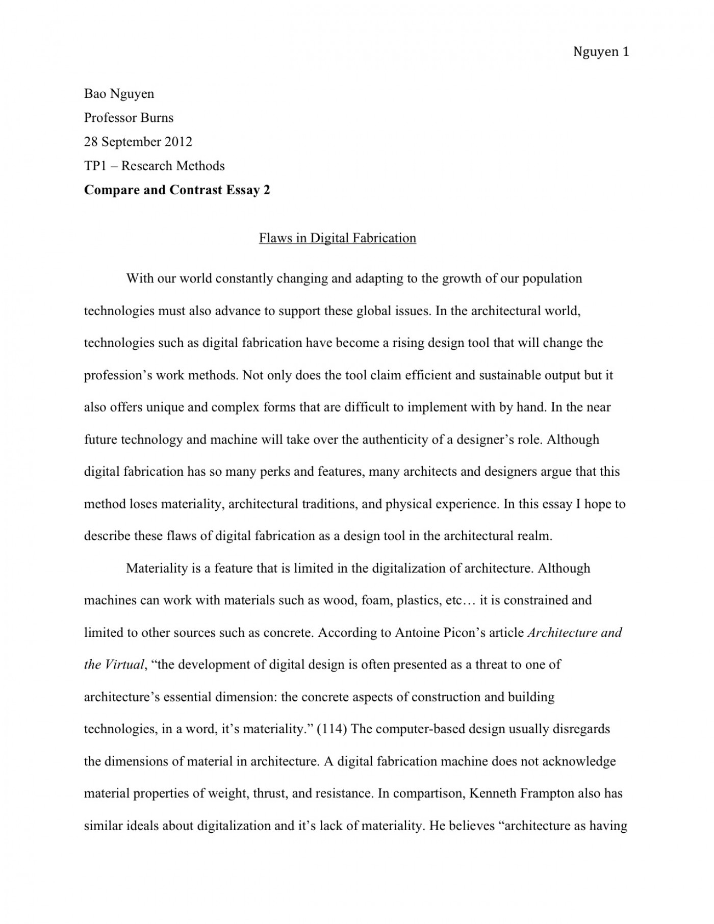 005 Essay Example With Thesis Tp1 3 Breathtaking Personal Narrative Statement And Topic Sentence Format 1400