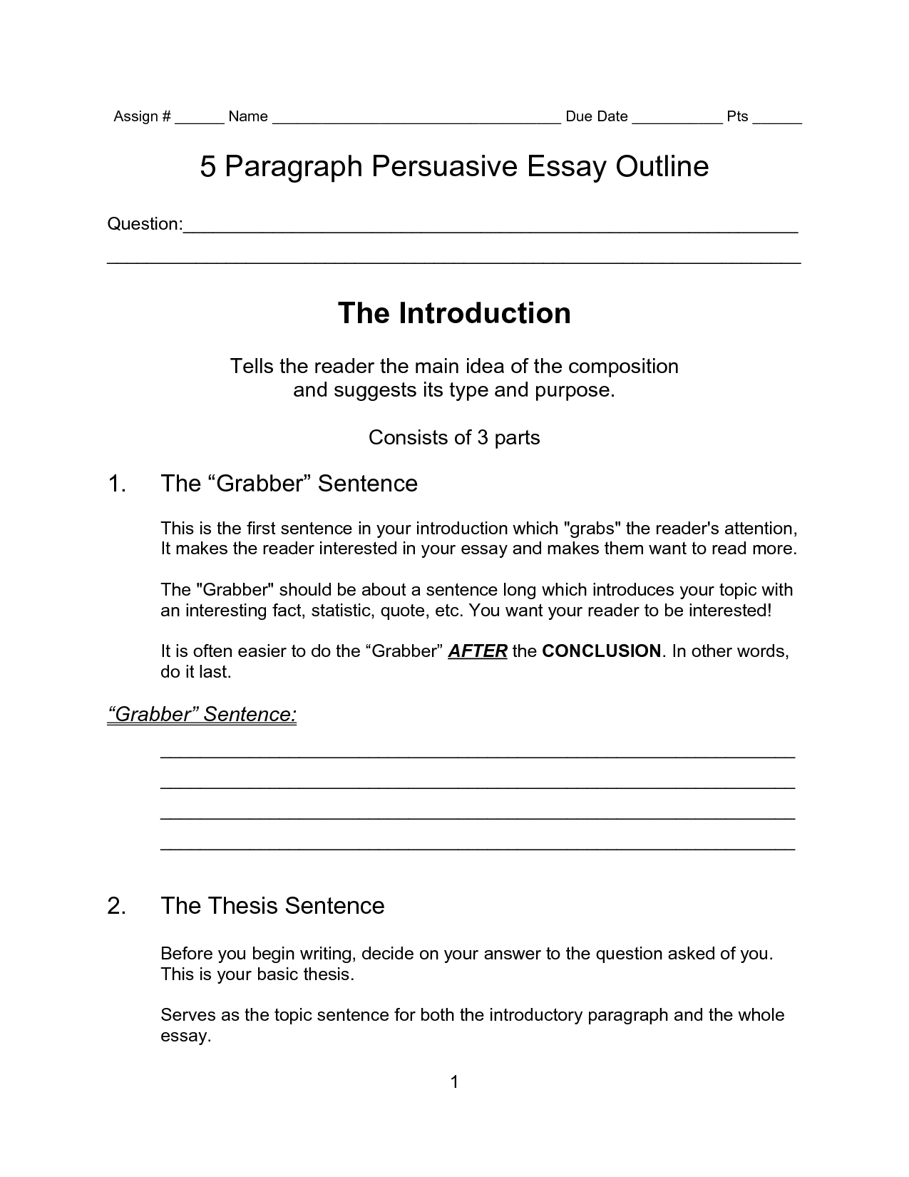 005 Essay Introduction Paragraph Persuasive Writing Opening Stupendous Outline Macbeth Narrative Example Full