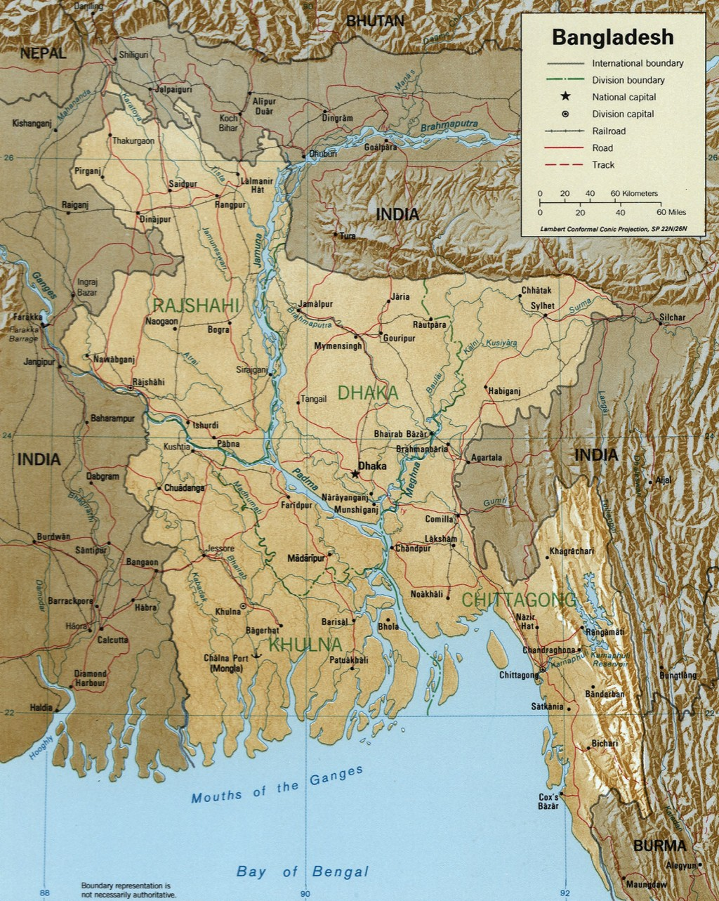 005 Essay On Rivers Of Bangladesh Example Loc 1996 Map Breathtaking Importance In Large