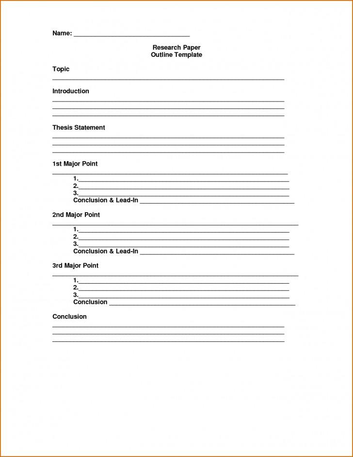 005 Essay Outline Template Excellent Mla Argumentative High School Research Paper Pdf 728