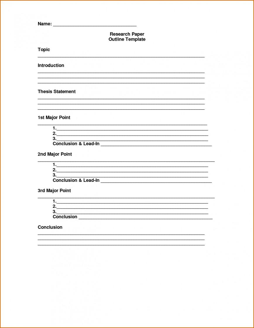 005 Essay Outline Template Excellent Mla Argumentative High School Research Paper Pdf 868