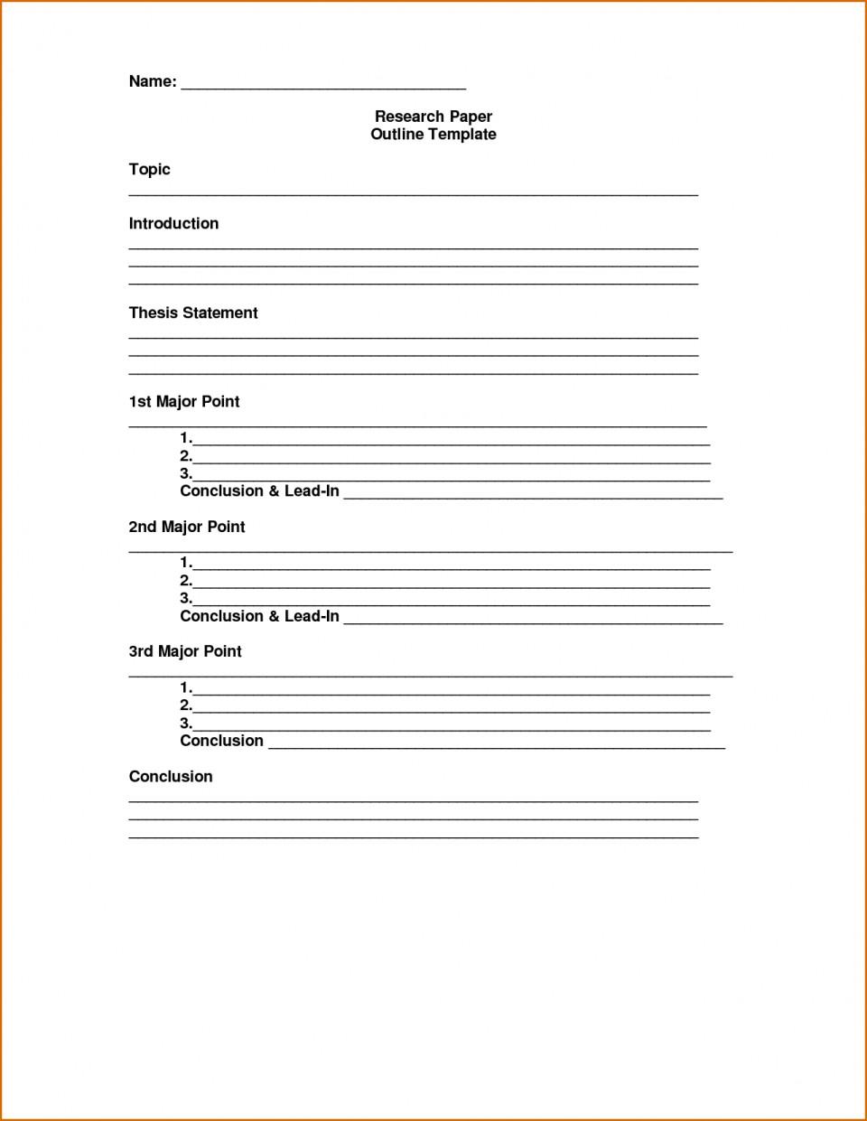 005 Essay Outline Template Excellent Mla Argumentative High School Research Paper Pdf 960