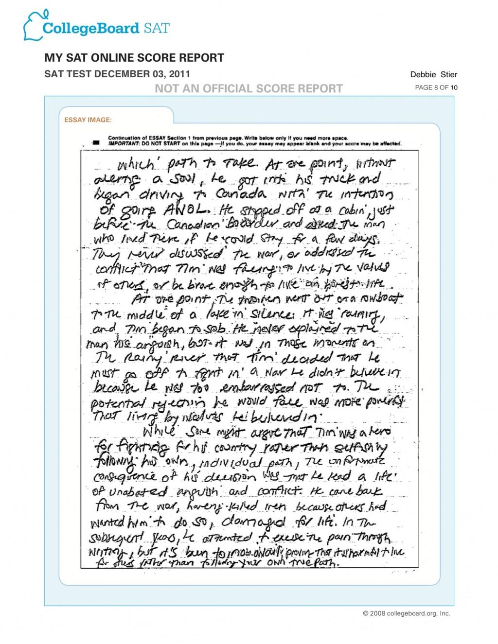 005 Essay Pg Example Sat Wondrous Sample Pdf Large