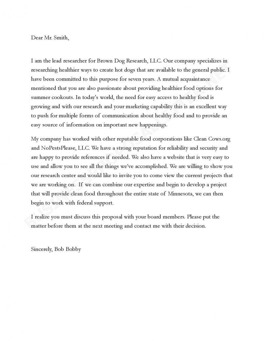 005 Essay Proposal Business Letter Sample Top Example Free Pdf Topics List University