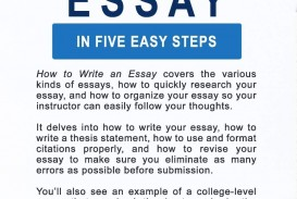 005 Essay Steps 71v7ckw5pll Formidable Writing Process To An About Yourself