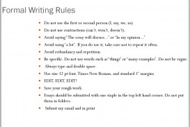 005 Essay Writing Rules Example Slide Awful And Regulations For Ielts With Examples
