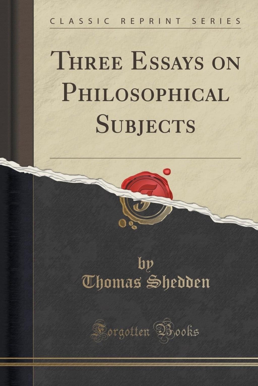 005 Essays On Philosophical Subjects Essay Example 71am4oec9 Best Smith Pdf Large