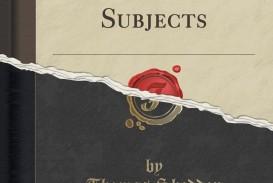 005 Essays On Philosophical Subjects Essay Example 71am4oec9 Best Smith Pdf
