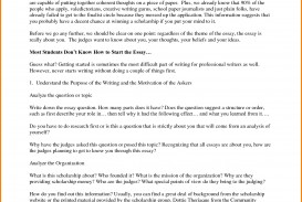 005 Examples Of Scholarship Essays Essay Example Remarkable Questions For College Students About Career Goals