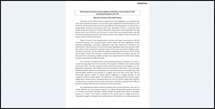 005 Expository Essay Examples Example Fascinating Format Mla Introduction Sample Apa 728