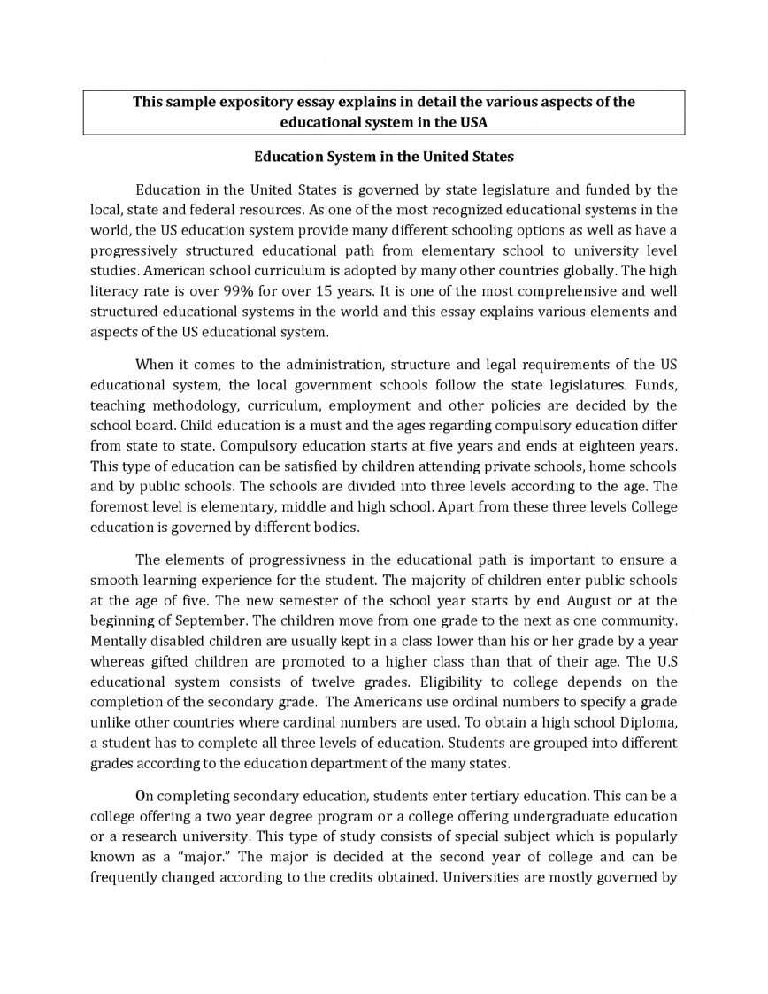 005 Expository Essaydeas Example Best Solutions Of Format Writing Made Easy The Hourglass How To Make Anmage Incredible Essay Ideas Prompt