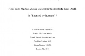 005 Extended Essay Topics English How Does Markus Zusak Use Colour To Extendedessay Phpapp02 Thumbn Ib Writing Service Impressive Topic Ideas Biology