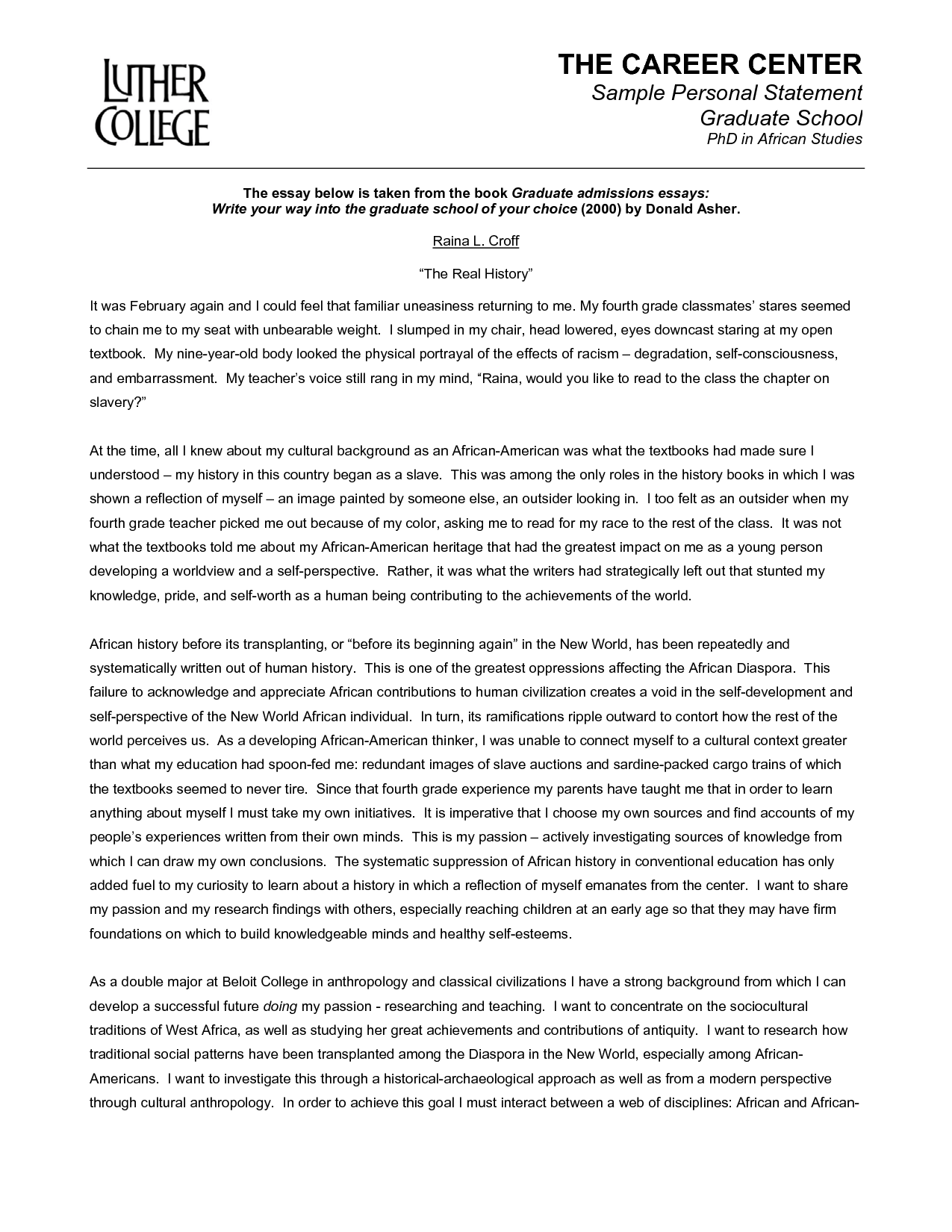 005 Free Sample Essay For Graduate School Admission Formidable Pdf Full