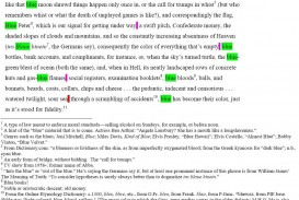 005 Good Beginnings For Essays Handout Gass William On Being Blue First Sentence Annotated3 Essay Remarkable Opening Sentences About Yourself Words Hooks 320