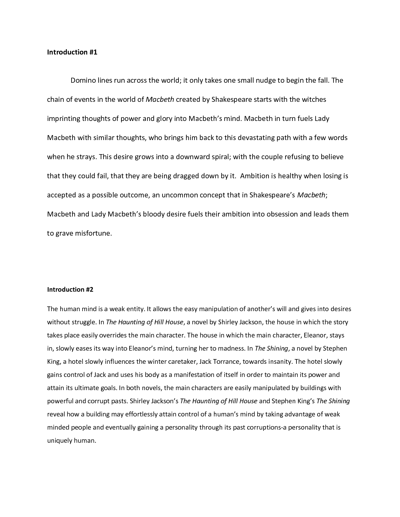 005 Good Essay Beginnings Examples Of Introduction Perfect Resume Middle School Example Coles Thecolossus About Yourself University Pdf Compare And Contrast High Opening Staggering Words Intros Full