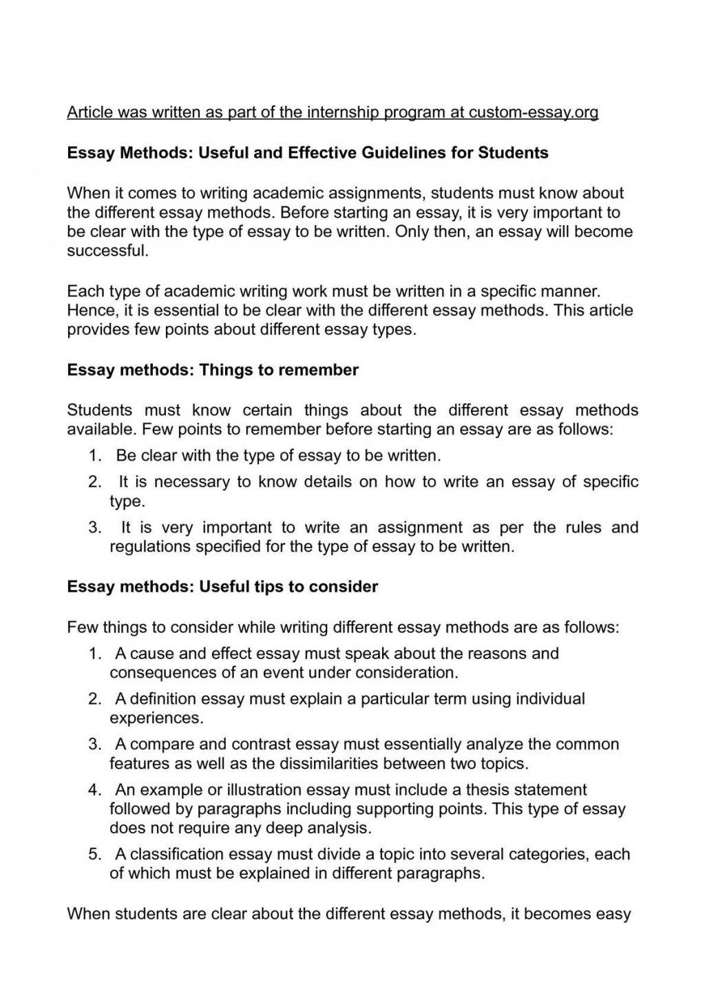 005 How To Type An Essay Example Awesome Fast A One Page Paper In Apa Format Mla On Mac Large