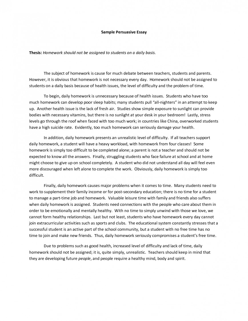 005 How To Write Persuasive Essay Example Outstanding A High School Thesis In Spanish 868
